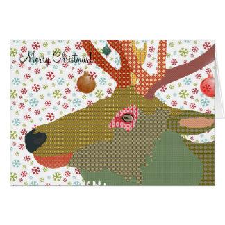 Dakota Christmas Greeting Greeting Card