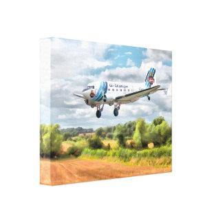 Dakota - Cleared to land Canvas Print