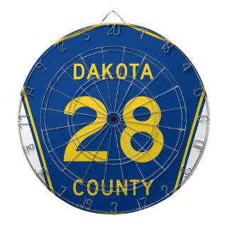 dakota signt dartboard
