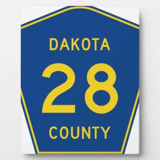 dakota signt plaque