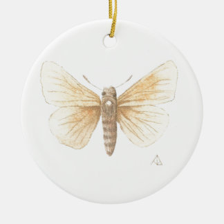Dakota Skipper cropped Ceramic Ornament