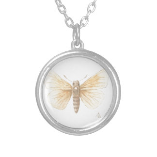 Dakota Skipper cropped Silver Plated Necklace