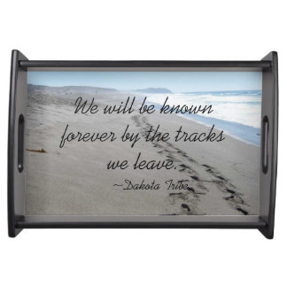 Dakota Tribe Quote Serving Tray