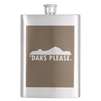 Daks Please Hip Flask