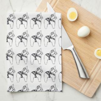 Dala Horse Kitchen Towel