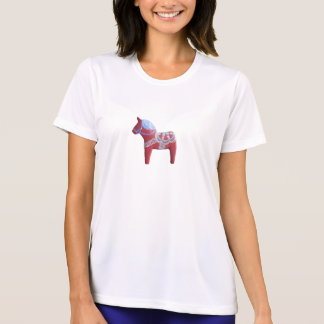 Dala Horse Shirt with design on both sides