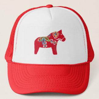 Dala Horse Trucker Hat