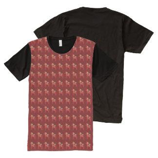 Dala Horses All-Over Print T-Shirt