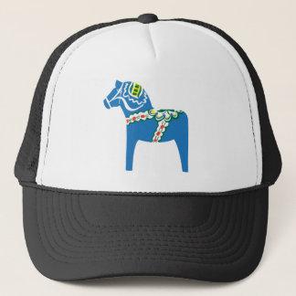 Dalahäst | Dala horse blue Trucker Hat