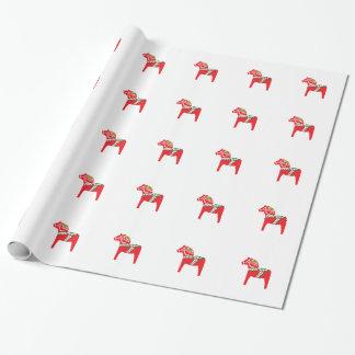 Dalahäst | Dala horse Wrapping Paper