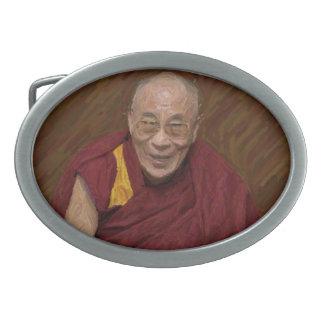Dalai Lama Buddha Buddhist Buddhism Meditation Yog Belt Buckles