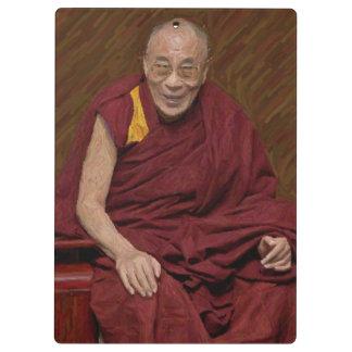 Dalai Lama Buddha Buddhist Buddhism Meditation Yog Clipboard