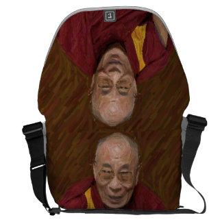 Dalai Lama Buddha Buddhist Buddhism Meditation Yog Messenger Bag