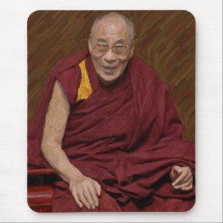 Dalai Lama Buddha Buddhist Buddhism Meditation Yog Mouse Pad
