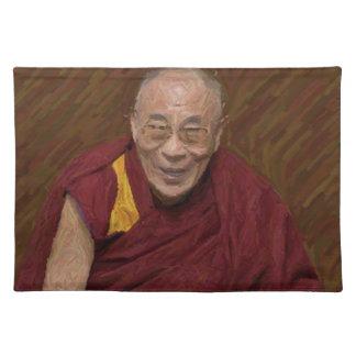 Dalai Lama Buddha Buddhist Buddhism Meditation Yog Placemat