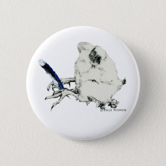 Dale Bluejay 6 Cm Round Badge