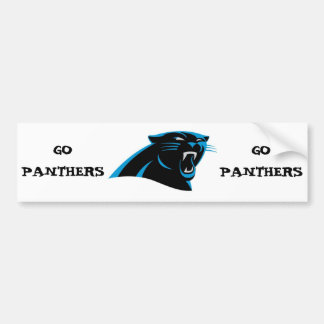 Dale City Sports Club Panthers Under 6 Bumper Sticker