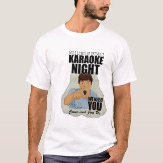 Dale Lewis Jr Karaoke T (Darrell Design) T-Shirt