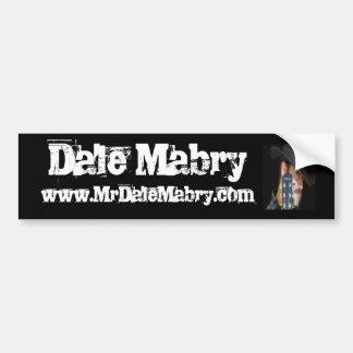 Dale Mabry bumper sticker