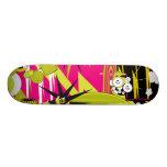 """Dalek """"Triptych Part 2"""" Skate Board Deck"""