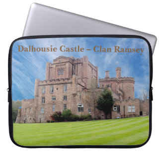 Dalhousie Castle – Clan Ramsey Laptop Sleeve