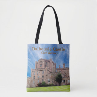 Dalhousie Castle – Clan Ramsey Tote Bag