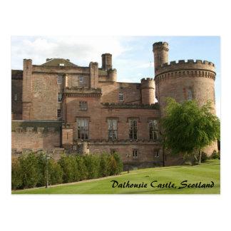 Dalhousie Castle Scotland Post Card