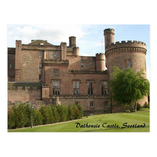 Dalhousie Castle, Scotland Post Card