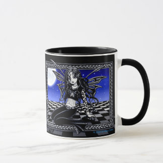 """Dali"" Surreal Moonlite Faerie Mug"