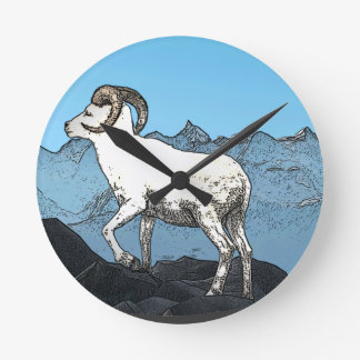 Dall s Sheep Wall Clocks