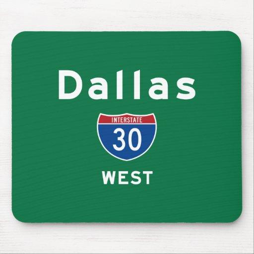 Dallas 30 mousepad
