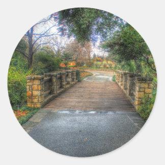 Dallas Arboretum and Botanical Garden Classic Round Sticker
