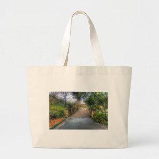 Dallas Arboretum and Botanical Garden Large Tote Bag