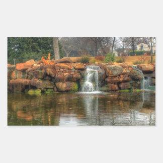 Dallas Arboretum and Botanical Garden Rectangular Sticker