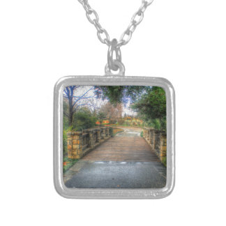 Dallas Arboretum and Botanical Garden Silver Plated Necklace