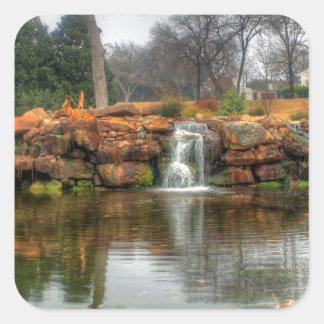 Dallas Arboretum and Botanical Garden Square Sticker