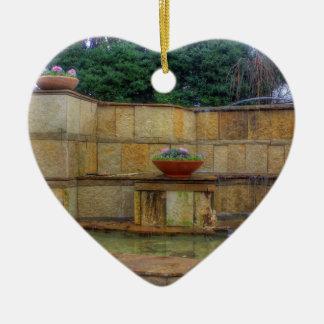 Dallas Arboretum and Botanical Gardens Entrance Ceramic Ornament