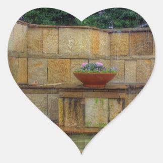 Dallas Arboretum and Botanical Gardens Entrance Heart Sticker