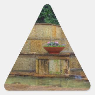 Dallas Arboretum and Botanical Gardens Entrance Triangle Sticker