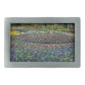 Dallas Arboretum and Botanical Gardens flower bed Belt Buckle