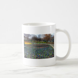 Dallas Arboretum and Botanical Gardens flower bed Coffee Mug