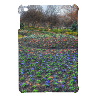 Dallas Arboretum and Botanical Gardens flower bed Cover For The iPad Mini