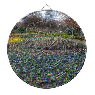 Dallas Arboretum and Botanical Gardens flower bed Dartboard
