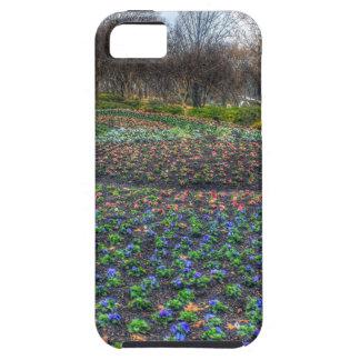 Dallas Arboretum and Botanical Gardens flower bed iPhone 5 Cases