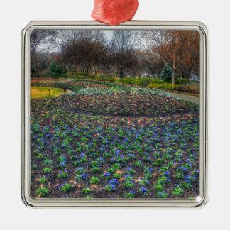 Dallas Arboretum and Botanical Gardens flower bed Metal Ornament