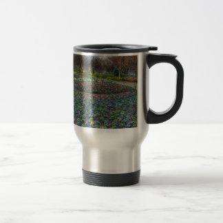 Dallas Arboretum and Botanical Gardens flower bed Travel Mug