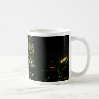 Dallas at night, Texas, U.S.A. Mugs