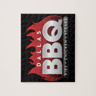 Dallas BBQ 8x10 Photo Puzzle with Gift Box