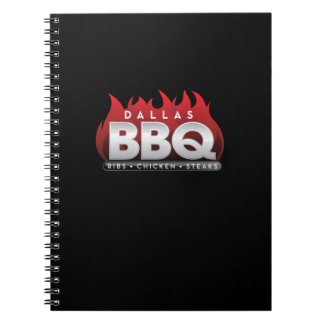 Dallas BBQ Photo Notebook (80 Pages B&W)