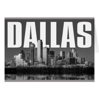 Dallas Cityscape Card